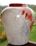 Vase Marbre Rouge