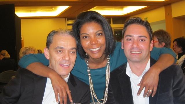 Felipe Pereira, Yonis et Christian Santos