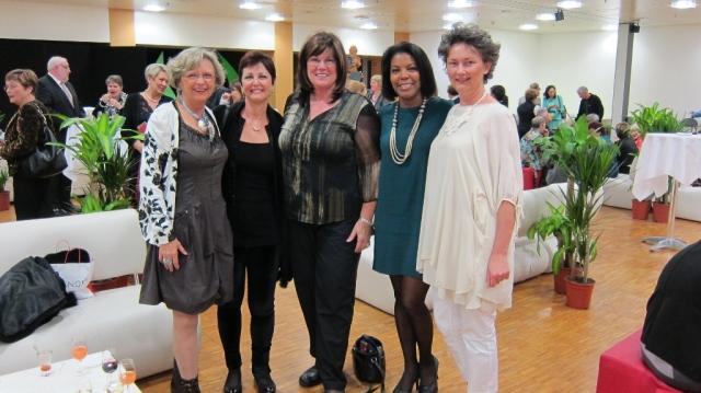Sylvie Leclerc, Marcia Stivelman et Petra Kugelmeier