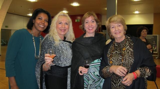 Yonis, Elvira Aguiar, Cristina et Ana Alonzo