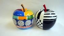 pomme nb et couleurs